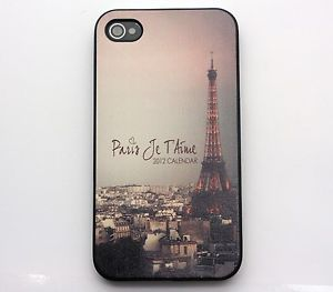 Twilight Paris Eiffel Tower Hard Cover Case for iPhone 4 4S