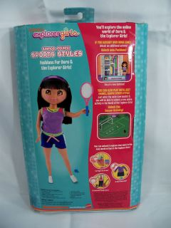 Dora's The Explorer Links Girls Doll Accessories Mattel Sports Styles