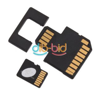 Micro SD TF to SD USB Flash U Disk Adapter with 2GB TF Card Adapter Set Kit 1