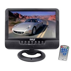 Pyle PLMN7SU 7'' Battery Powered TFT LCD Monitor  MP4 USB SD MMC Card Player