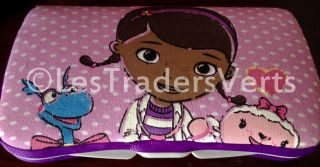 Disney Doc McStuffins Baby Wipes Travel Case New One of A Kind