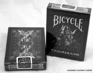 1 Deck Bicycle Guardians Playing Cards Poker Magic T11