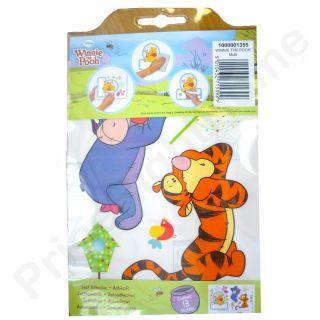 Winnie The Pooh Name Plate Wall Stickers New Official