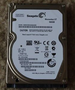 Seagate Momentus XT 500GB Hybrid SSD HDD Laptop Hard Drive Apple MacBook Pro