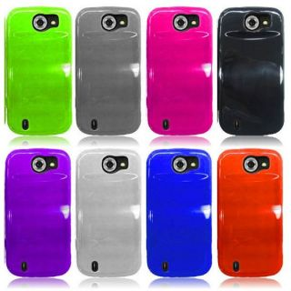 For ZTE Flash N9500 Sprint Candy TPU Cover Rubber Gel Case