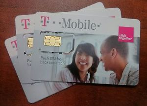 New T Mobile Sim Card Unactivated Tmobile Replacement Sim Standard Sim Card
