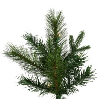 Vickerman Glacier Mixed Pine 7.5 Green Artificial Christmas Tree with 500 LED Warm White Lights with Stand