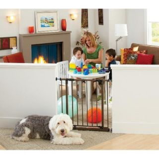 Extra Tall Deluxe Easy Close Metal Gate with 2 Extensions for Sale