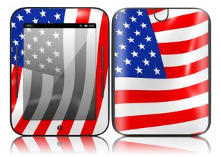 Z27 Barnes Noble Nook Color Touch Decal Skin Sticker Cover I Love America