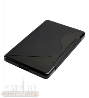 "Hybrid Hard Soft TPU Case Cover Black for  Kindle Fire Accessory 7"" Tablet"