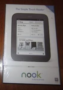 Barnes Noble BNRV300 Nook Simple Touch Reader Brand New SEALED Box