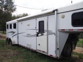 2006 Kiefer Built 3 Horse Trailer with Living Quarters