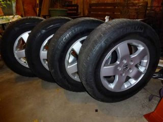 "4 2005 Honda Element Rims 16"" Winter Michelin Tires"