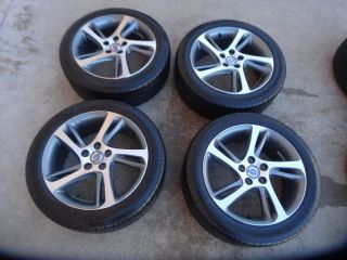 Volvo C30 S40 V50 Factory Wheels Rims Michelin Tires 17 inch 31302877