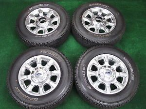 "2013 New 20"" Ford F250 F350 Superduty Platinum Factory Wheels Michelin Tires"