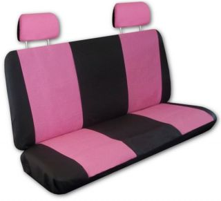 Pink Black Faux Leather Next Generation Car Seat Covers Free Accessories Y