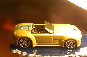 '11 Hot Wheels Ford Shelby Cobra Concept Gold Holiday Hot Rods Target Store Only