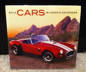 Classic Car 2014 Calendar Small 16 Months Great Looking Hot Rods