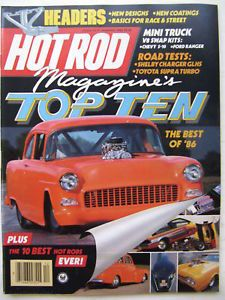 Hot Rod Magazine 1953