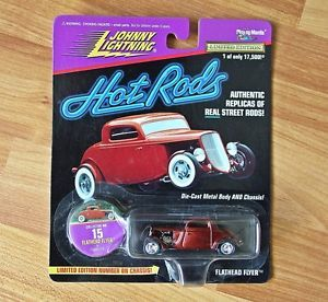 Johnny Lightning Hot Rods Flathead Flyer Collector No 15 Die Cast Toy Car