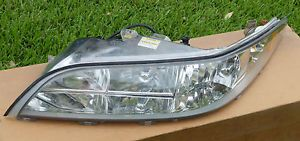 97 98 Lincoln Mark VIII Headlight Assembly Driver Side F7LZ13008CA