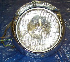 1955 Bel Air Chevrolet Headlight Assembly Awesome Original Chrome Very Nice