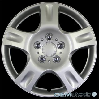 "4 New Silver 16"" Hub Caps Fits Mazda SUV Car FWD 3 5 Center Wheel Covers Set"