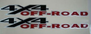 2 4x4 Dodge Off Road Decal Stickers 4x4 Truck Decals RAM Big Horn Set Cummins