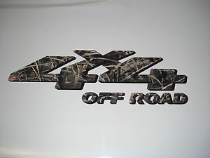 "2 ""4x4 Off Road"" Advantage Max 4 Camo Truck Decals Ford Chevy Dodge Toyota"