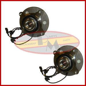 2 New Front Wheel Bearing Hub Assembly 4WD 4x4 Pair