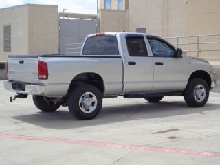 2003 Dodge RAM 2500HD Turbo Diesel 4x4 SLT Quad Cab Texas Truck