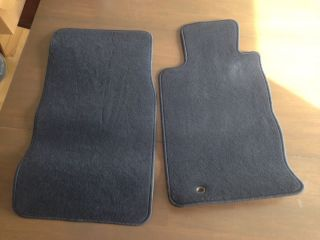 2002 2005 Ford Thunderbird Floor Car Mats Black