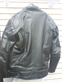 Real Leather Motorcycle Jacket Small CLEARANCE Sale