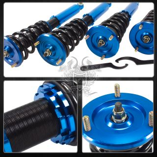 95 99 Eclipse Talon Full Adjustable Height Damper coilover Suspension Kit Blue