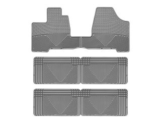 Weathertech® All Weather Floor Mats Toyota Sienna 2004 2010 Grey