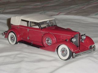 Franklin Mint 1 24 Scale Replica Model Car 1934 Packard Beautiful Condition
