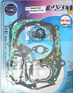 Honda CT110 Ct 110 Engine Gasket Set All Years