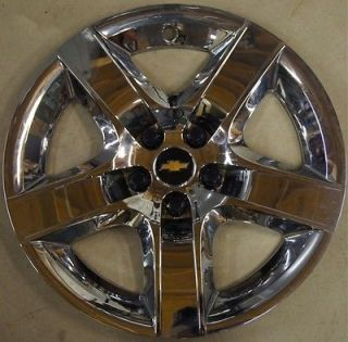 "Chevy Malibu 17"" Chrome Factory Wheel Cover Hubcap 2008 12 3277 Free Shipng"