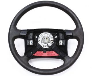 Steering Wheel VW Jetta Golf MK3 4 Spoke Rubber Genuine OE 1HM 419 091 N