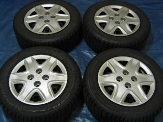 "Honda Civic 14"" Wheels Snow Tires CRX Integra Fit"