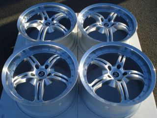 19 350Z 370Z G35 G37 Supra Ford Mustang GT Cobra Saleen 5 0 Staggered Rims Wheel