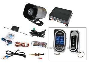 Viper 5904 Car 2 Way Keyless Entry Security Alarm Vehicle Remote Start System