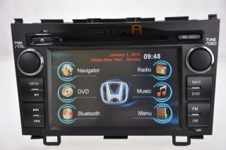 2007 2011 Honda CRV DVD GPS Navigation Double 2 DIN Radio in Dash 2008 2009 10
