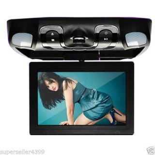 "12 1"" Roof Mount Car DVD Player FM IR Transmitter TV Support DVD SD USB MP4 Game"