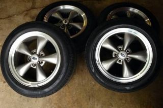 17in Ford Bullitt Mustang Rims and Tires Wheels 17x8 Pirelli Tires