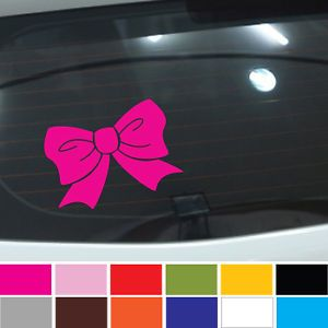 Danbi Bow Truck Car Decals Decoraton Sticker Girl Tie Cute Hello Kitty Ribbon