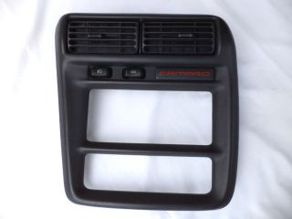 1997 2002 Chevrolet Camaro Z28 SS RS Dash Radio Heater Bezel with AC Vents
