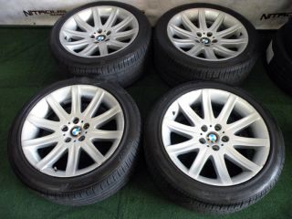 "19"" Factory BMW 7 Series Wheels 740 745 750 760 E38 E65 E66 Pirelli Tires"