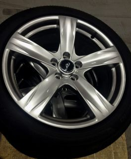 "2005 2014 Ford Mustang GT 19"" 5 Spoke Wheels w Pirelli Tires Set of 4"