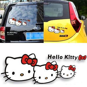 Hello Kitty Car Decal